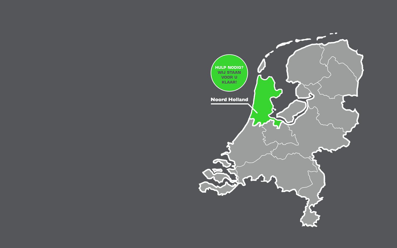 Woningontruiming in heel Noord-Holland